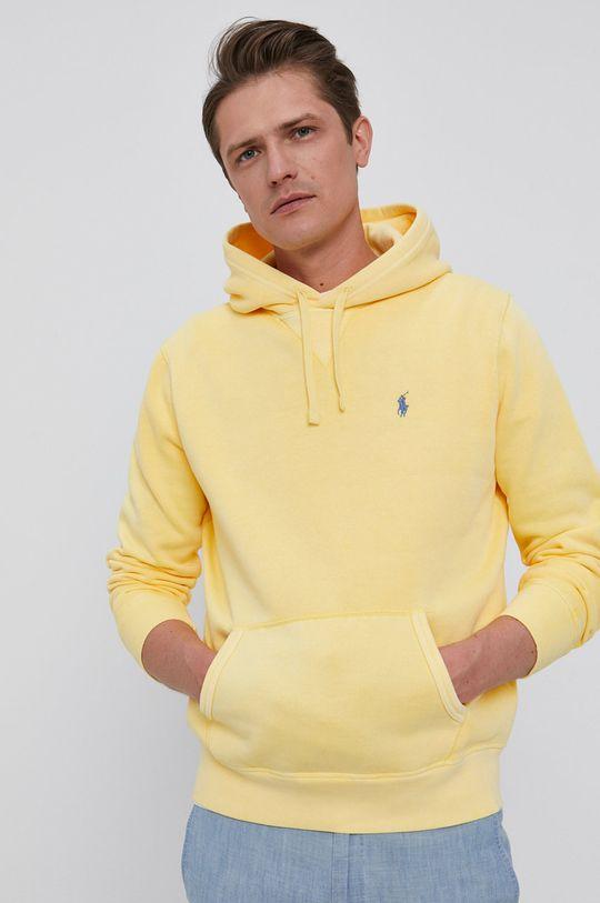 żółty Polo Ralph Lauren - Bluza Męski