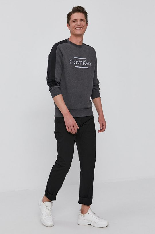 Calvin Klein - Mikina sivá