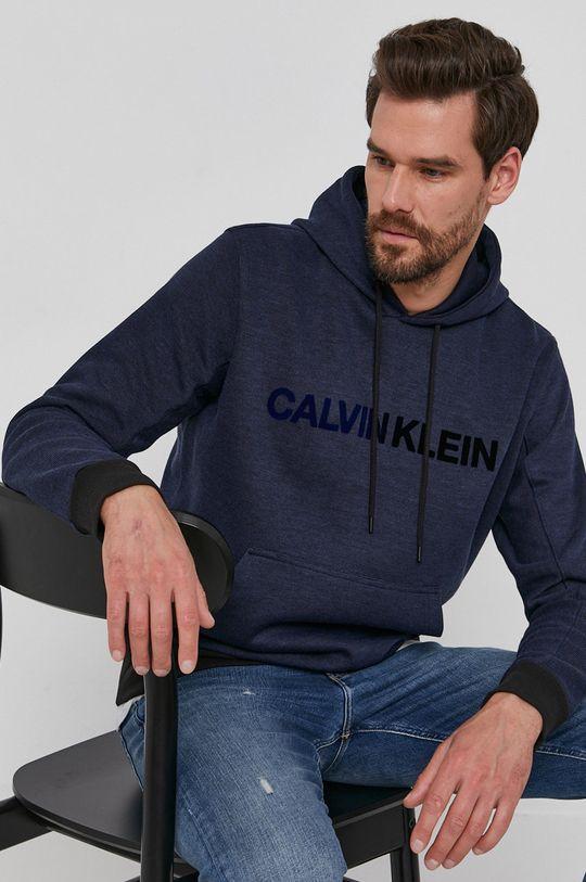 granatowy Calvin Klein - Bluza Męski