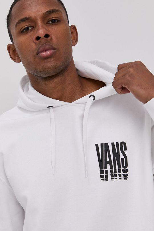biały Vans - Bluza bawełniana