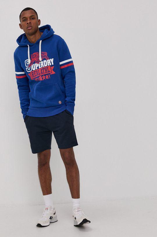 Superdry - Bluza niebieski