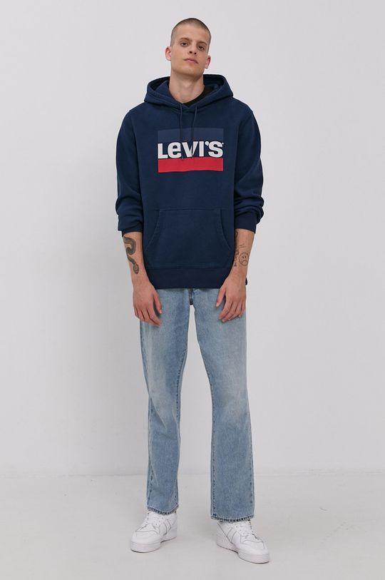 Levi's - Mikina námořnická modř