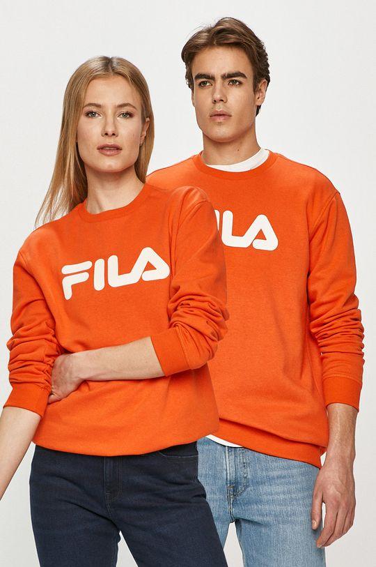 mandarynkowy Fila - Bluza Unisex