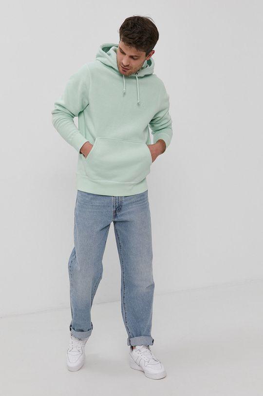 blady zielony HUF - Bluza bawełniana