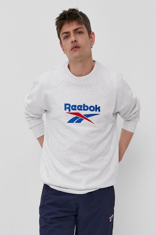 Reebok Classic - Hanorac de bumbac  Materialul de baza: 100% Bumbac Banda elastica: 95% Bumbac, 5% Elastan