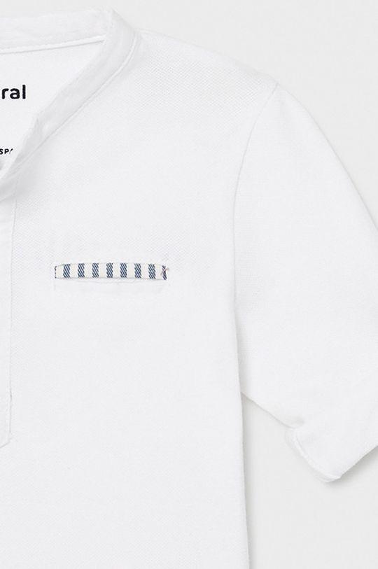 biela Mayoral - Detské tričko s dlhým rukávom