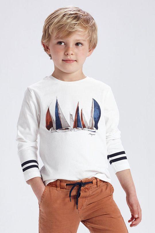biela Mayoral - Detské tričko s dlhým rukávom Chlapčenský
