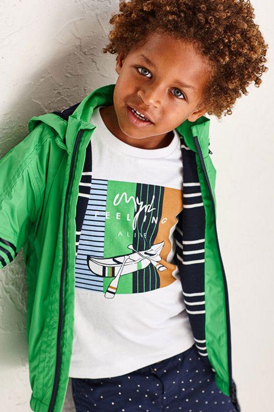Mayoral - Zestaw - longsleeve i T-shirt dziecięcy biały