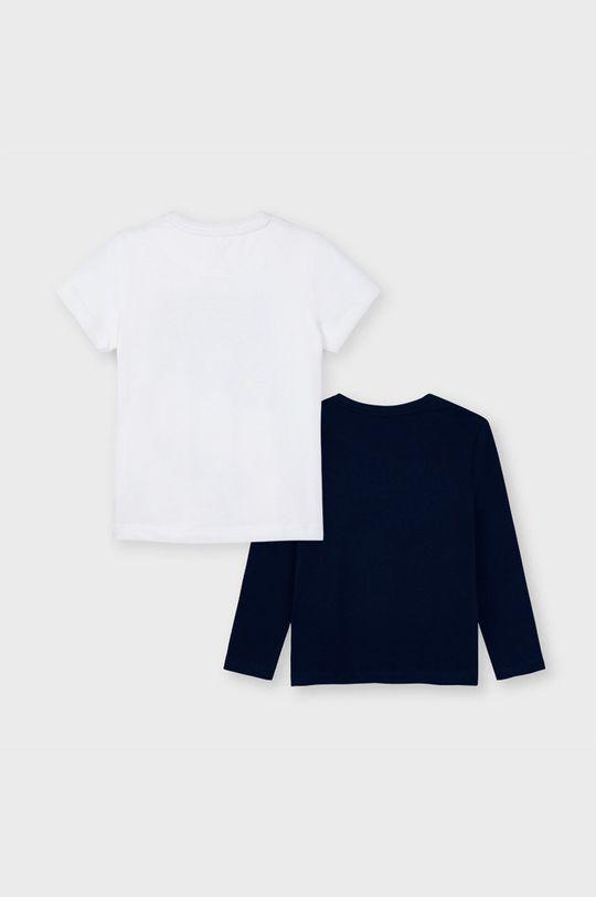 biały Mayoral - Zestaw - longsleeve i T-shirt dziecięcy