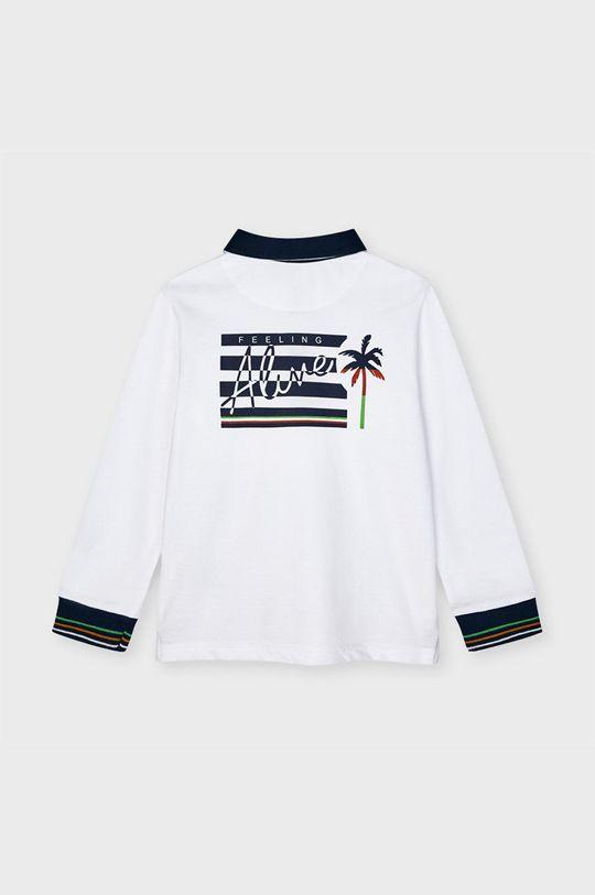 Mayoral - Detské polo tričko biela