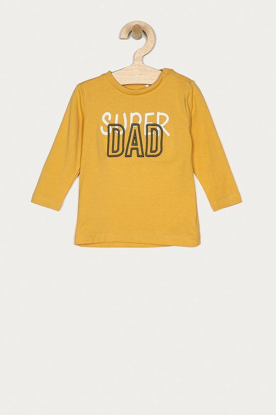żółty Name it - Longsleeve dziecięcy 56-86 cm Chłopięcy