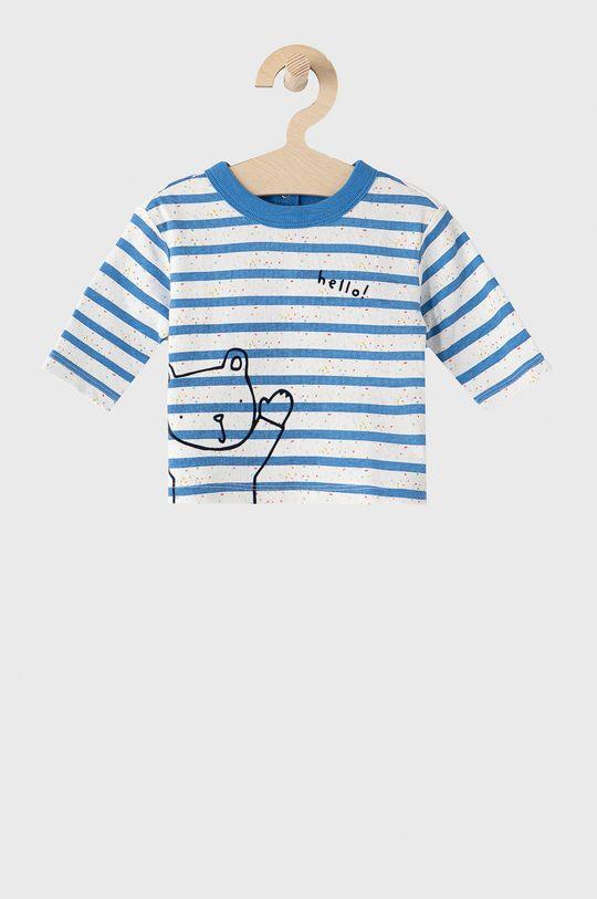 svetlomodrá GAP - Detské tričko s dlhým rukávom 50-86 cm Chlapčenský