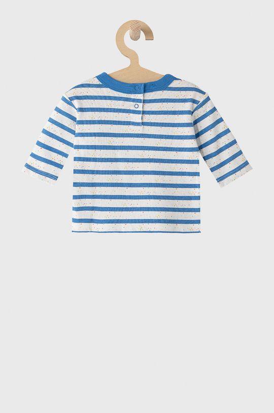 GAP - Detské tričko s dlhým rukávom 50-86 cm svetlomodrá