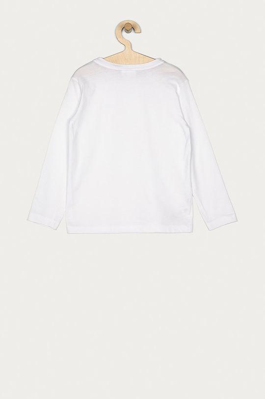 Lacoste - Longsleeve copii 104-176 cm alb