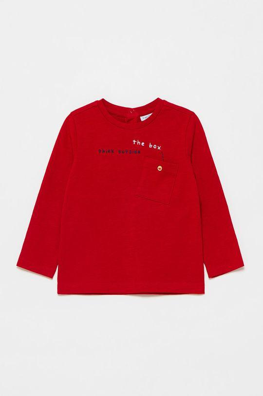 ostry czerwony OVS - Longsleeve dziecięcy Chłopięcy
