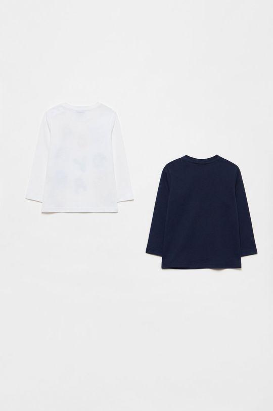 OVS - Longsleeve copii (2-pack) bleumarin
