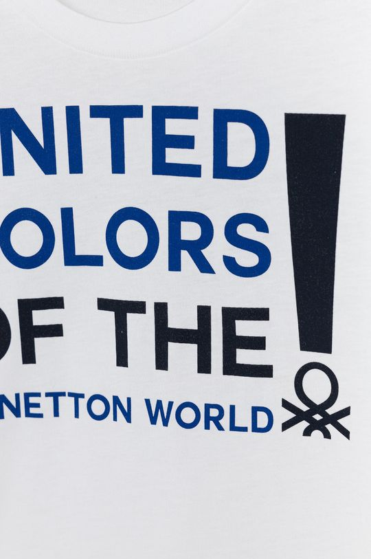 United Colors of Benetton - Detské tričko s dlhým rukávom  100% Organická bavlna