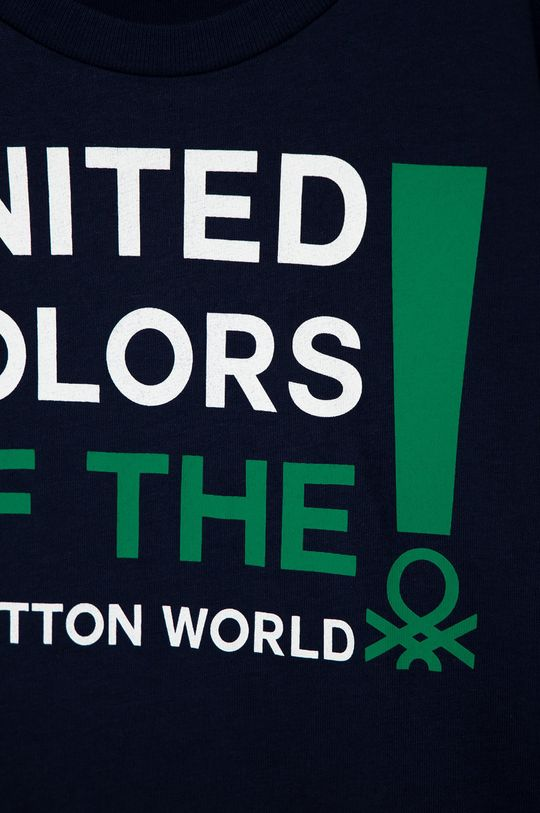 United Colors of Benetton - Longsleeve dziecięcy 100 % Bawełna organiczna
