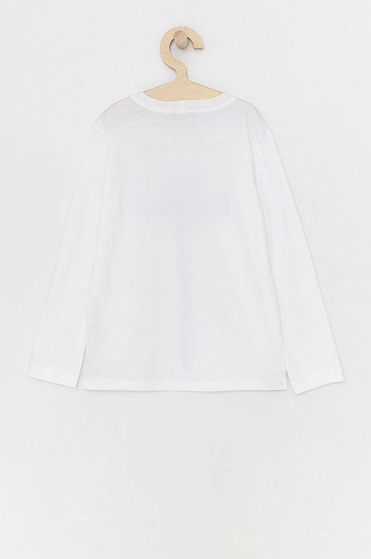 United Colors of Benetton - Dětské tričko s dlouhým rukávem bílá