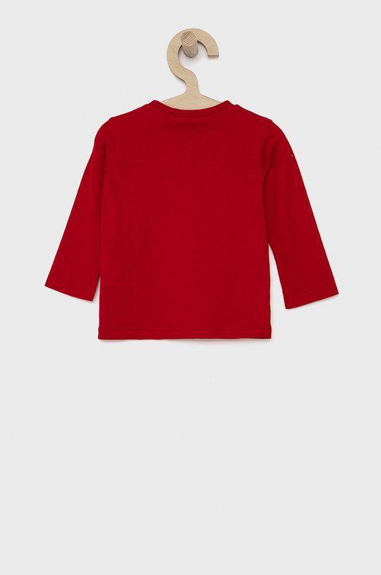 United Colors of Benetton - Dětské tričko s dlouhým rukávem červená