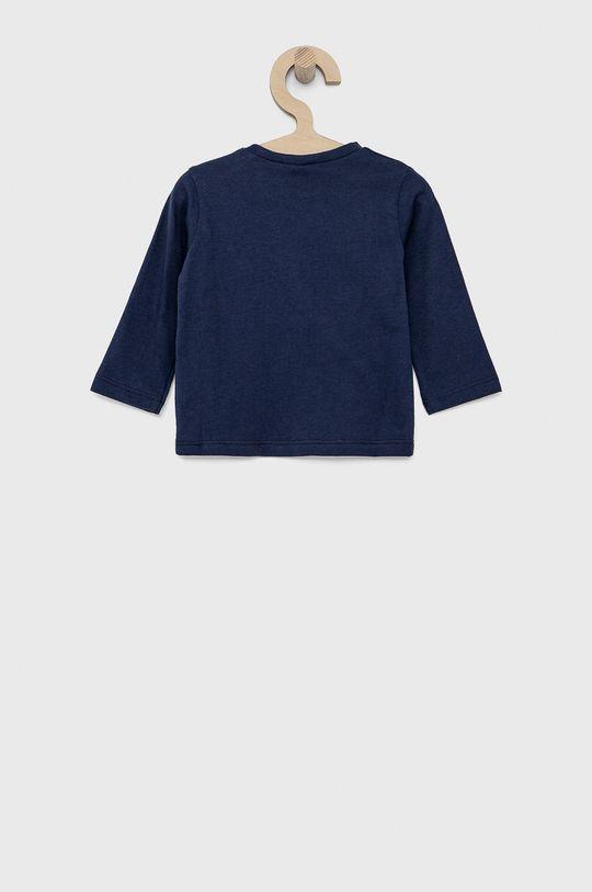 United Colors of Benetton - Dětské tričko s dlouhým rukávem námořnická modř
