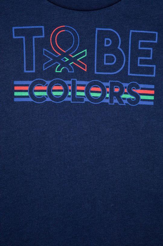 United Colors of Benetton - Dětské tričko s dlouhým rukávem  100% Bavlna