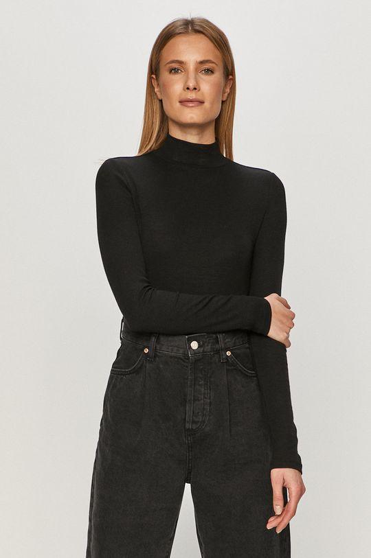 čierna GAP - Tričko s dlhým rukávom Dámsky