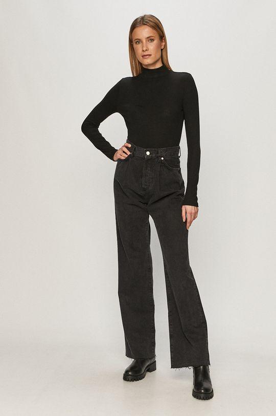 GAP - Tričko s dlhým rukávom čierna