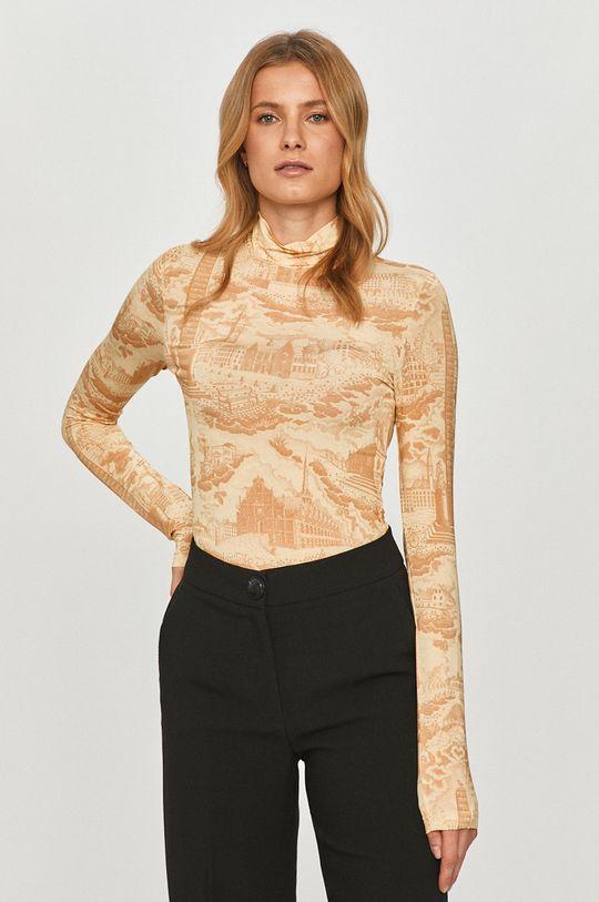 vícebarevná Samsoe Samsoe - Tričko s dlouhým rukávem