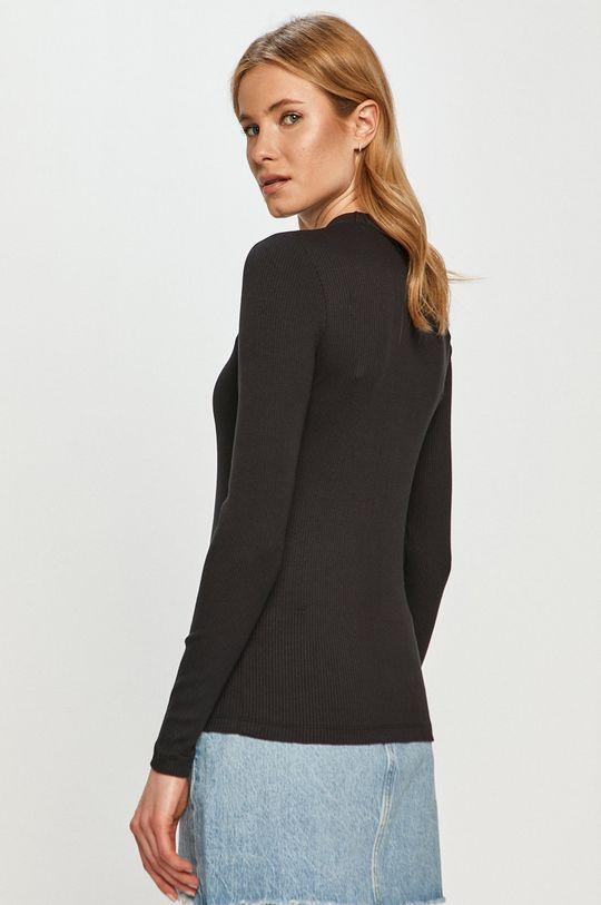Calvin Klein Jeans - Tričko s dlhým rukávom  4% Elastan, 96% Viskóza