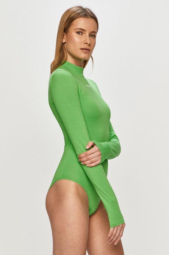 zelená Calvin Klein Jeans - Tričko s dlhým rukávom