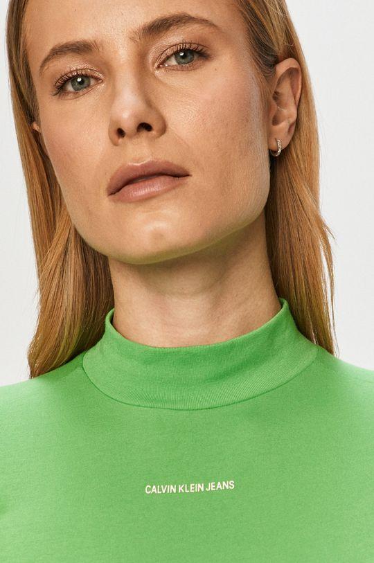 Calvin Klein Jeans - Tričko s dlhým rukávom Dámsky