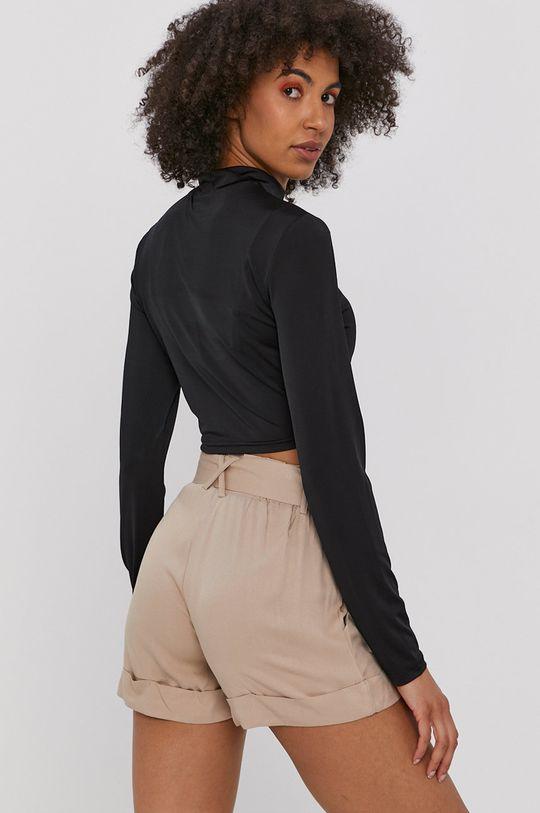 Noisy May - Tričko s dlhým rukávom  7% Elastan, 93% Polyester