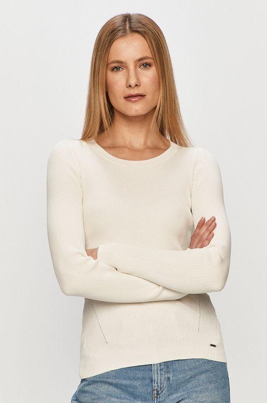 biały Pepe Jeans - Longsleeve Claire Damski