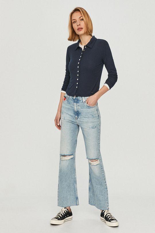 tmavomodrá Pepe Jeans - Tričko s dlhým rukávom Agnes Dámsky