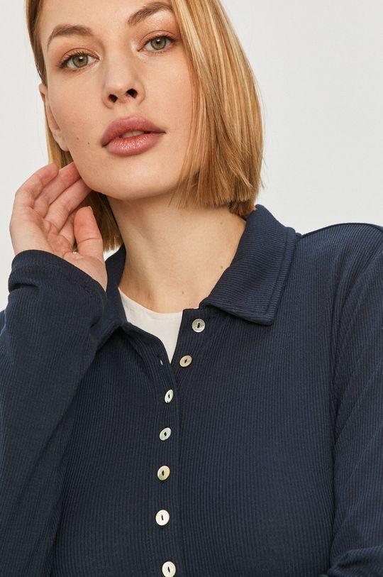 tmavomodrá Pepe Jeans - Tričko s dlhým rukávom Agnes