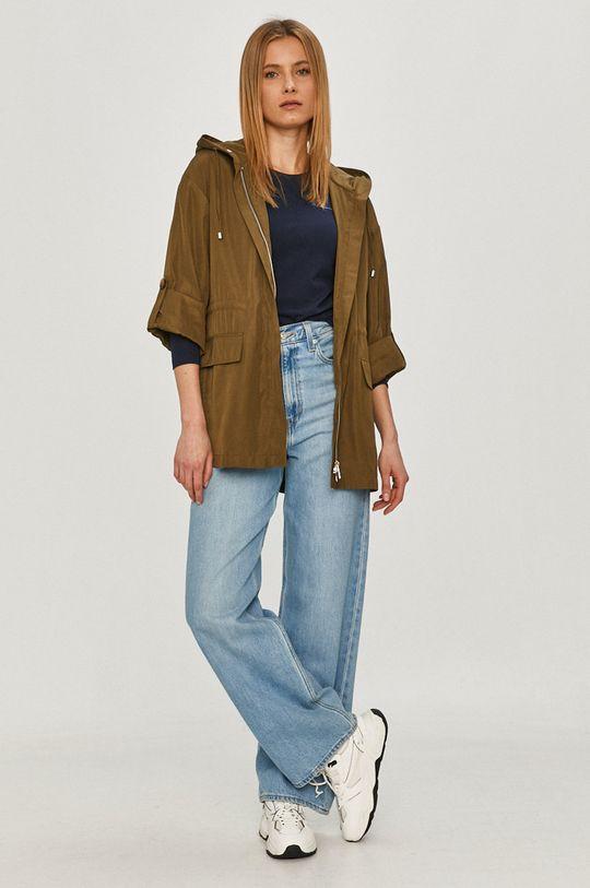 Pepe Jeans - Tričko s dlhým rukávom Amberta tmavomodrá