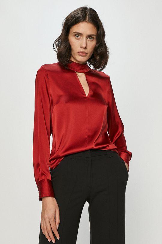 czerwony Dkny - Bluzka