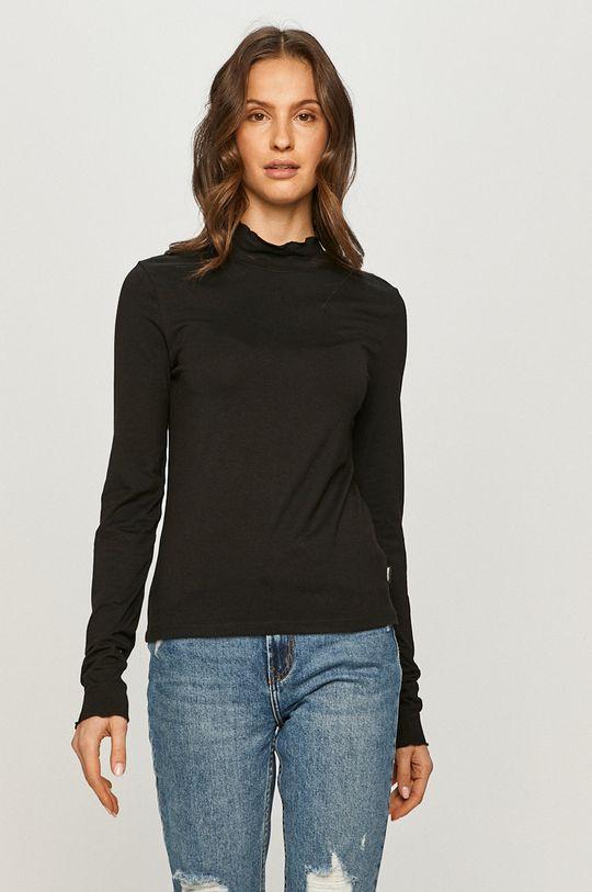čierna Wrangler - Tričko s dlhým rukávom Dámsky