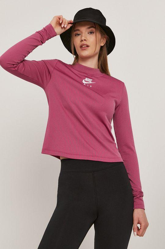 růžová Nike Sportswear - Tričko s dlouhým rukávem Dámský