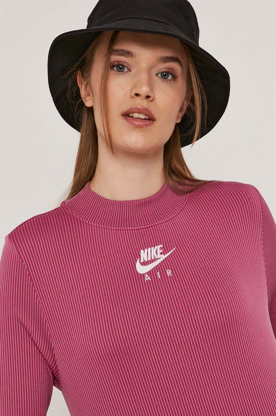růžová Nike Sportswear - Tričko s dlouhým rukávem