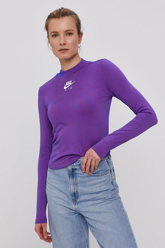 fialová Nike Sportswear - Tričko s dlouhým rukávem Dámský