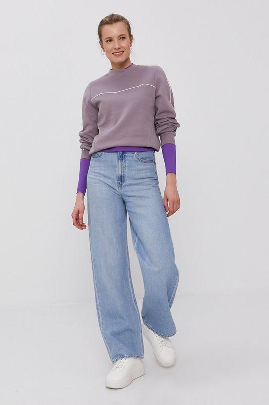Nike Sportswear - Tričko s dlouhým rukávem fialová