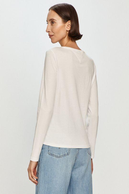 Tommy Jeans - Tričko s dlouhým rukávem  100% Organická bavlna