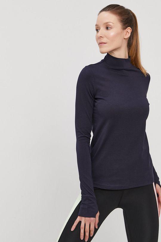 tmavomodrá 4F - Tričko s dlhým rukávom Dámsky