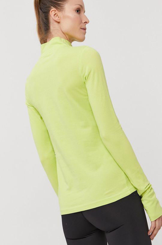 4F - Longsleeve żółto - zielony