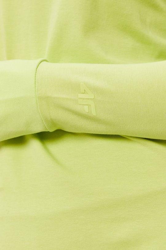 żółto - zielony 4F - Longsleeve
