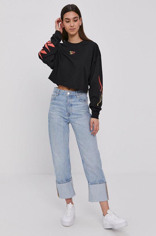 Reebok Classic - Tričko s dlhým rukávom čierna