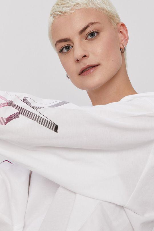 biela Reebok Classic - Tričko s dlhým rukávom