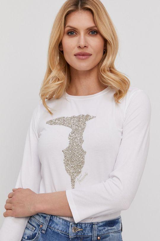 biały Trussardi - Longsleeve
